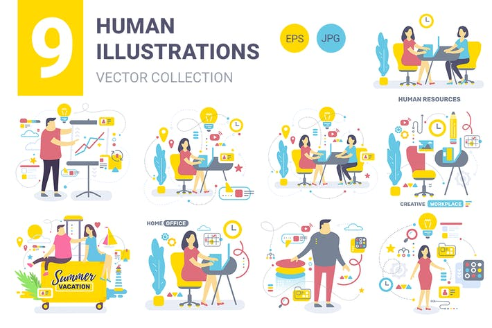 Thumbnail for Business people illustrations