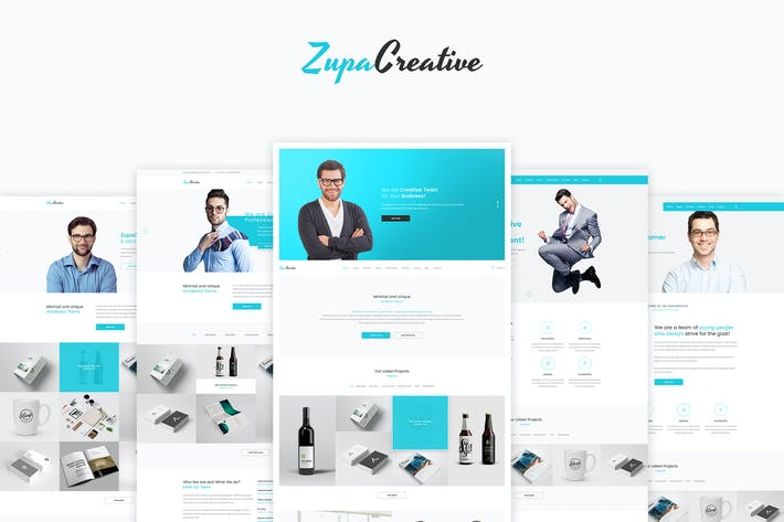 Cover Image For ZupaCreative – Business and Creative Agency – PSD