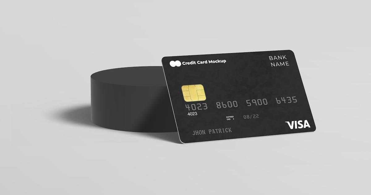 Download Credit Card Mockup by PrexTheme