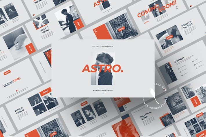 Thumbnail for Astro Pitch Business Presentation