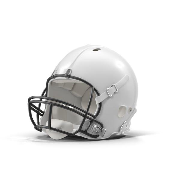 White Football Helmet