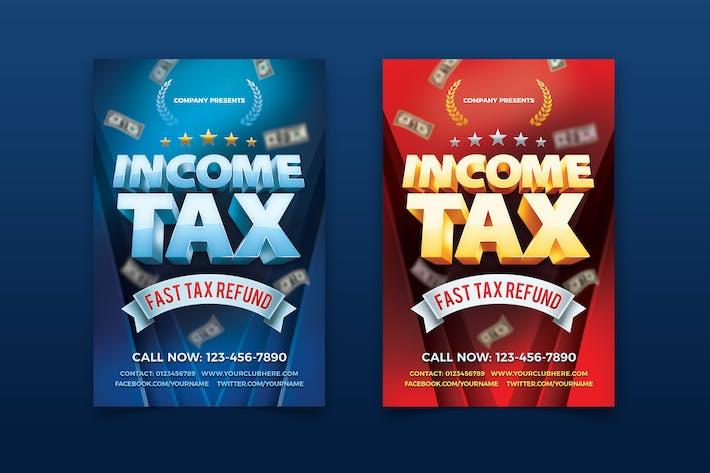 EinkommensteuerFlyer