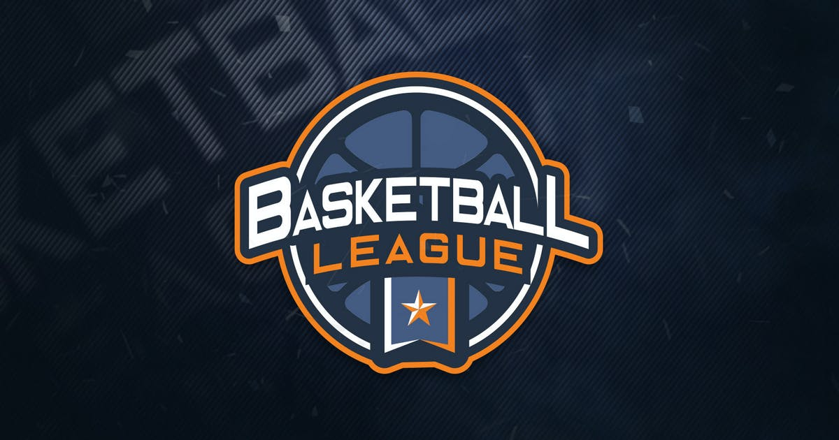 Download Basketball League Sports Logo by ovozdigital