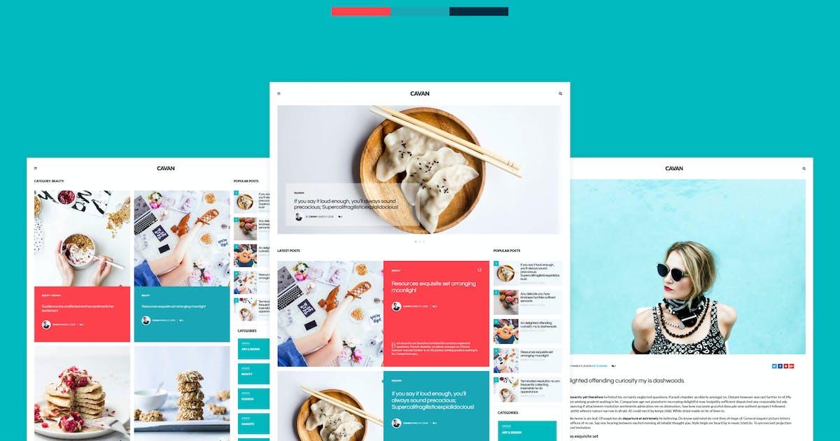 Download CAVAN - A Distinctive WordPress Blog Theme by 3FortyMedia