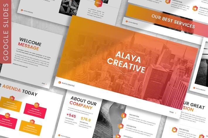 Thumbnail for Alaya - Plantilla de Google Business