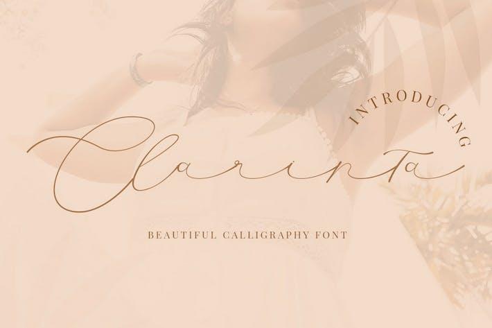 Thumbnail for Clarinta - Caligrafía hermosa
