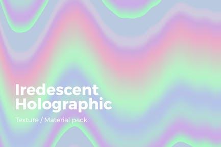 Iridescent Holographic Texture v2