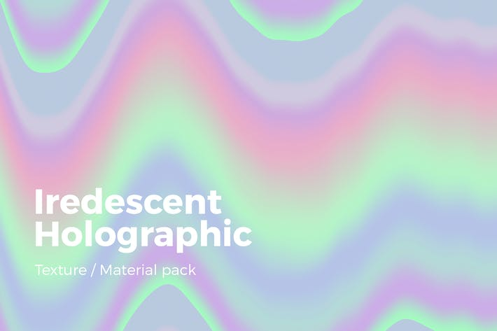 Cover Image For Iridescent Holographic Texture v2