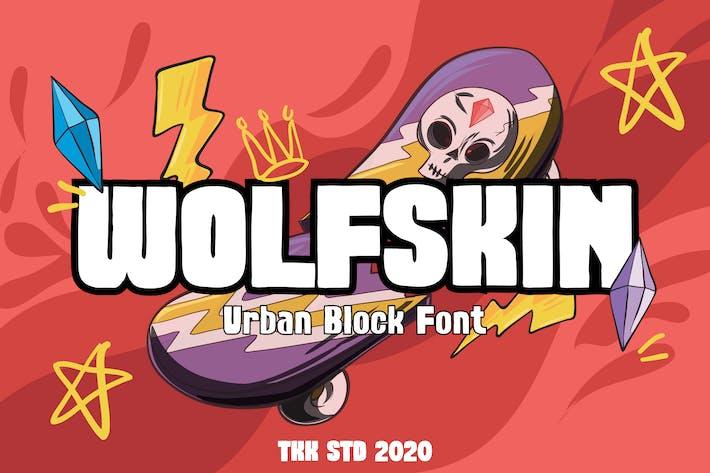 Wolfskin - Шрифт городского блока