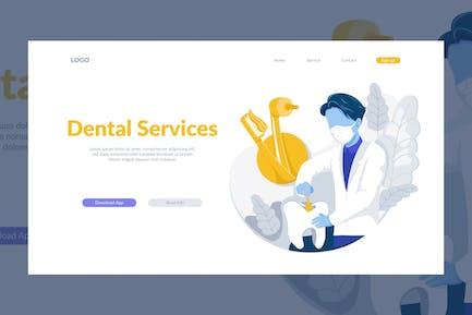 Dental Service Illustration