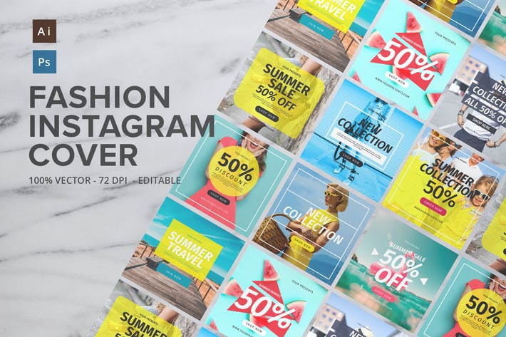 Cover Image For Fashion Instagram Cover