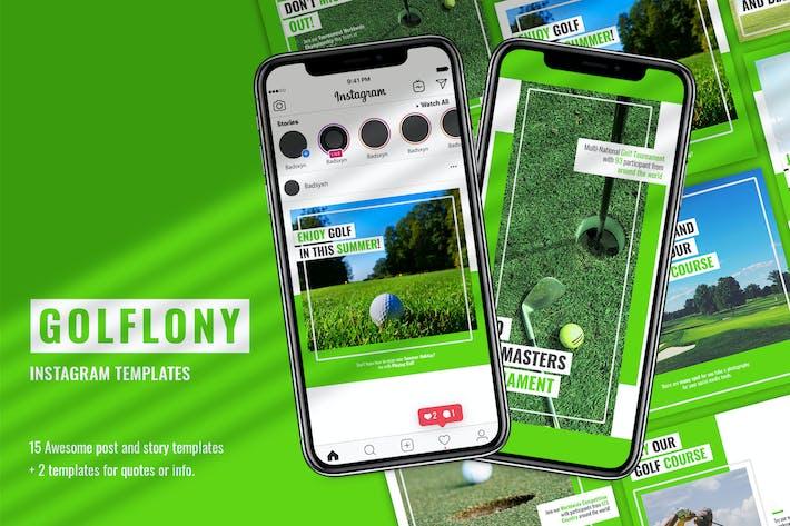 Thumbnail for Golflony Instagram Template