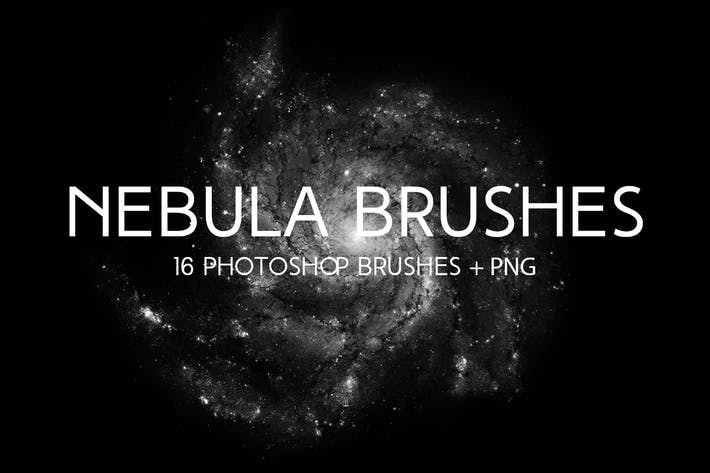 Cover Image For Nebula Photoshop Brushes