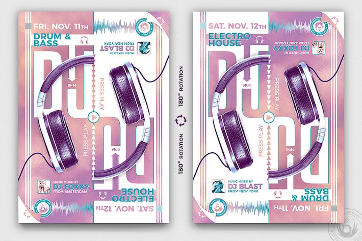 Thumbnail for Special Dj Flyer Template V8