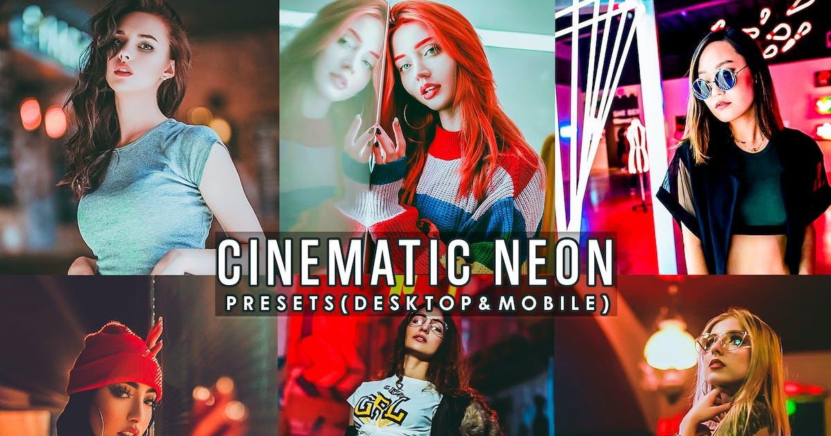 Download Cinematic Neon Portrait Presets Lightroom by 2lagus