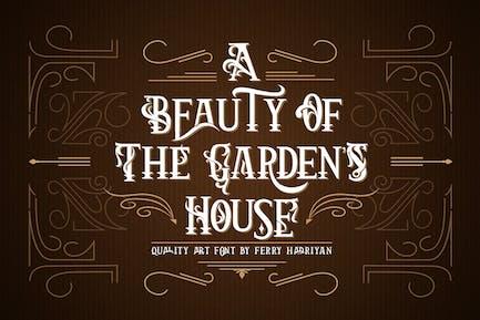 Arthouse - Display Font