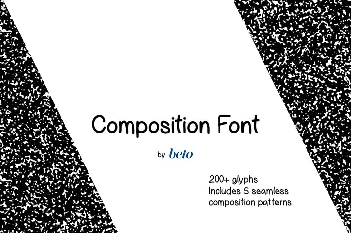 Thumbnail for Composition Font + Extras