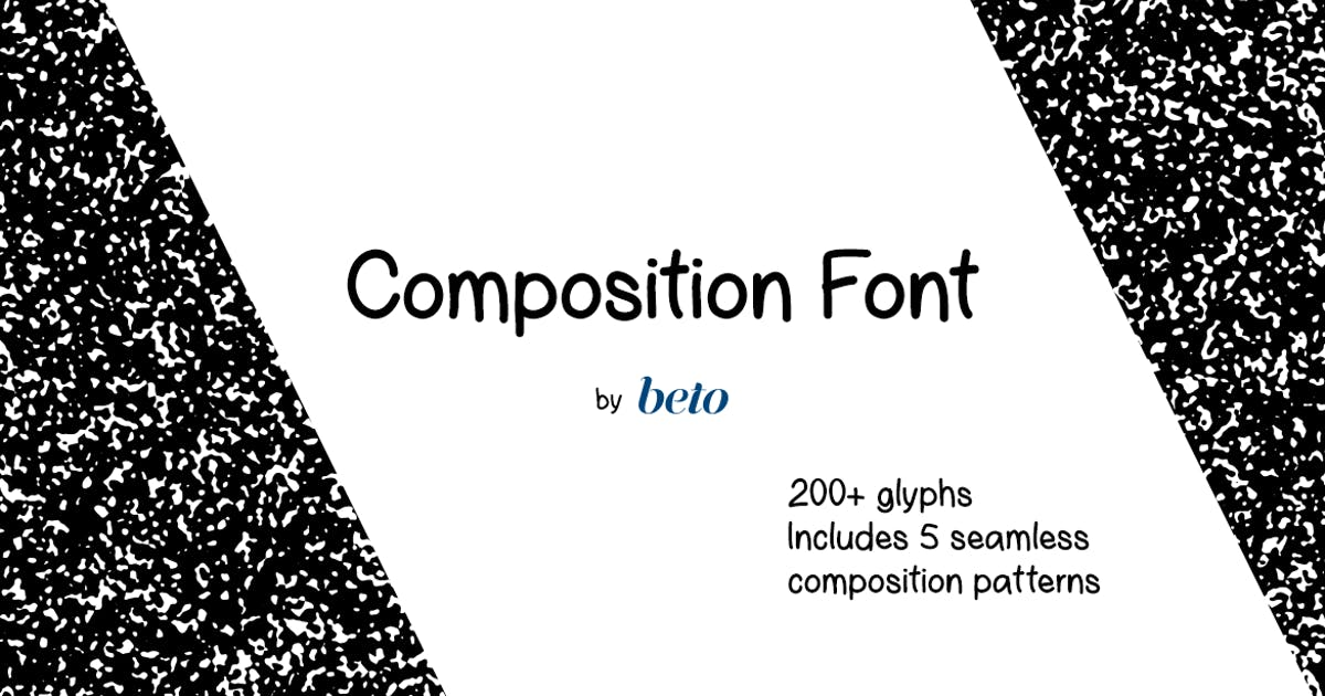 Download Composition Font + Extras by betoalanis