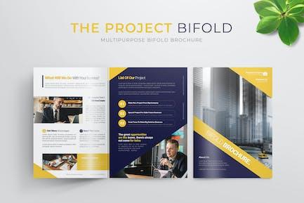 Project Business | Bifold Brochure