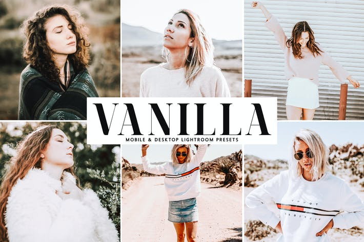 Thumbnail for Vanilla Mobile & Desktop Lightroom Presets