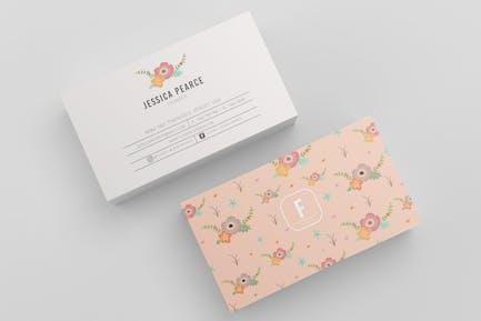 Floure Business card