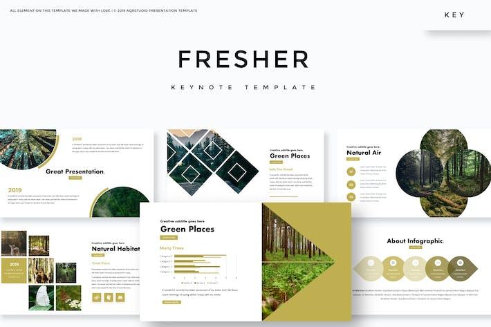 Thumbnail for Fresher - Keynote Template