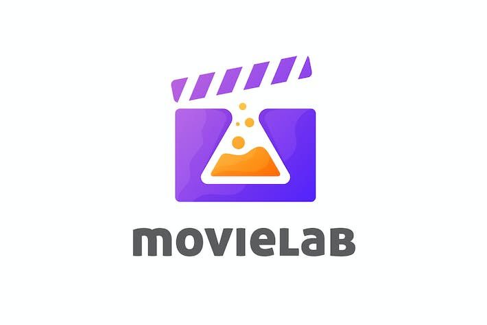 Thumbnail for Negative Space Lab Flask and Clapper Board Logo