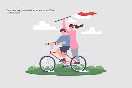 Celebrating Indonesia Independence Day