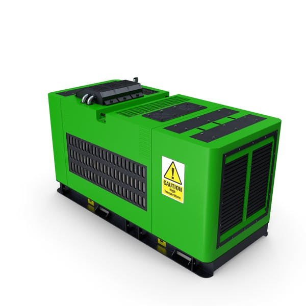 Dieselgenerator grün