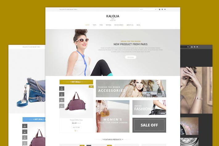Thumbnail for SNS Kalolia - Responsive Prestashop Theme
