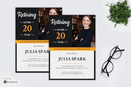 Julia Spark - Retiring Flyer RB