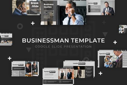 Businessman - Google Slide Template