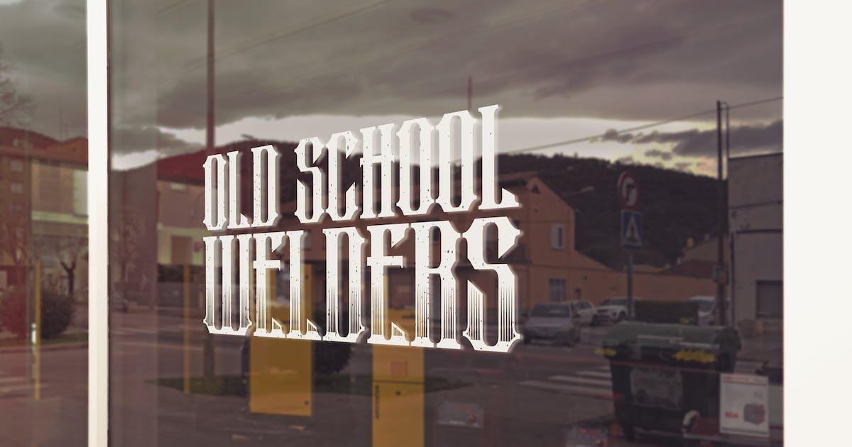 Download Welder Shop Logo Mockup by SmartDesigns_eu