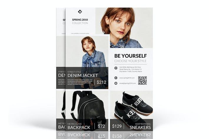 Thumbnail for Frühling2018: Fashion Marketing Flyer