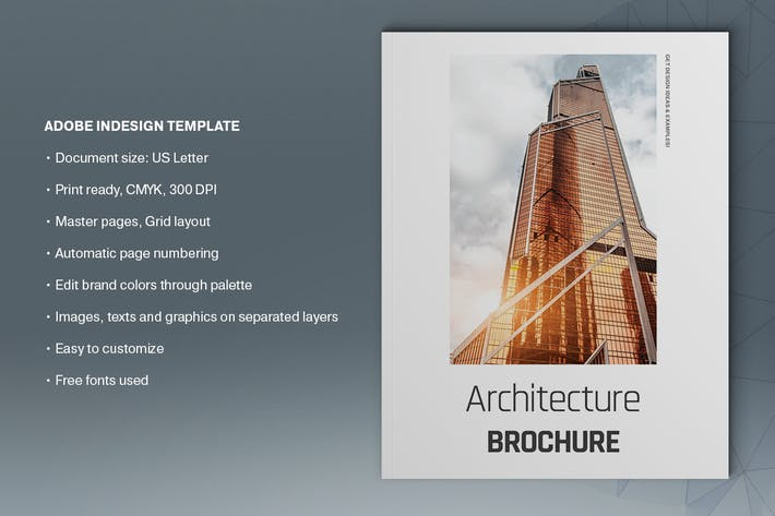 Thumbnail for Architecture Brochure Template