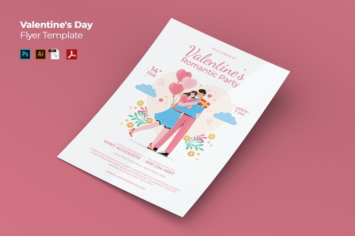Thumbnail for Valentines Day Flyer