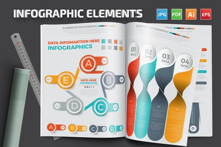 Cover Image For Infographic Elements Set