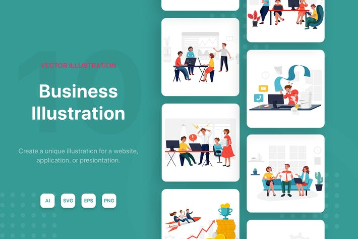 Cover Image For Business Illustrations
