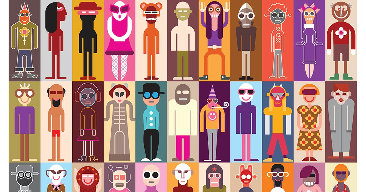 Download Large collection of funny people avatars by Unknow