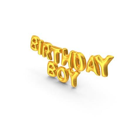 Birthday Boy Luftballons