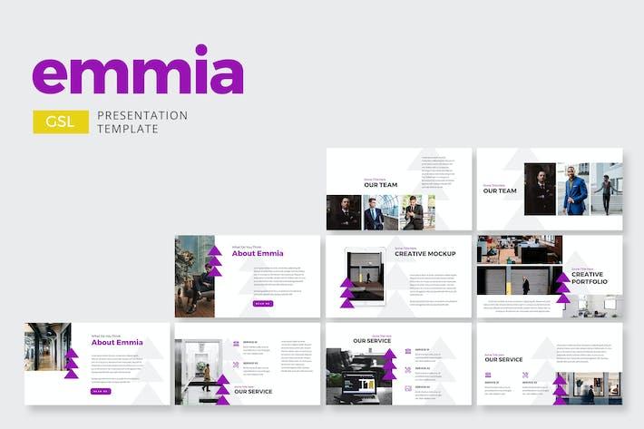 Thumbnail for Emmia Business - Presentaciones de Google