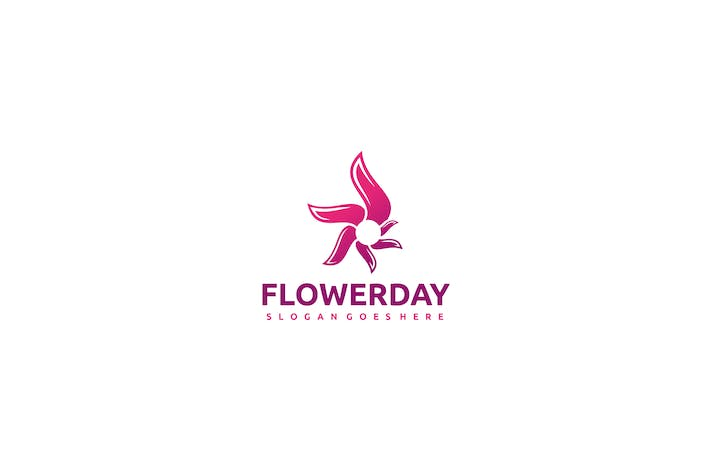 Thumbnail for Pink Flower Logo