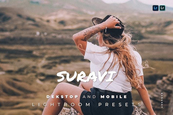 Suravi Desktop and Mobile Lightroom Preset