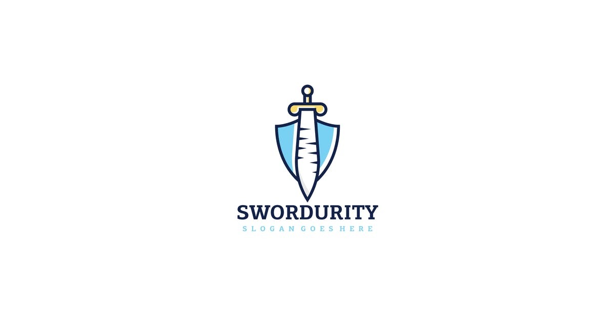 Download Sword Security Logo by 3ab2ou