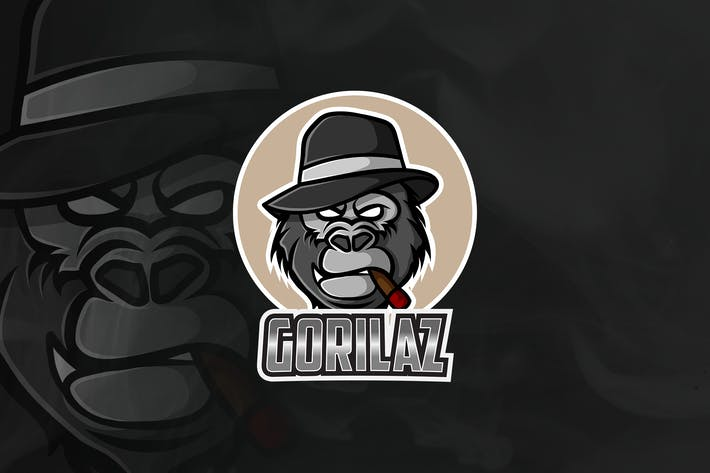 Thumbnail for Gorilaz - Mascot & Esport Logo