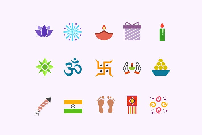 Thumbnail for 15 Diwali Icons