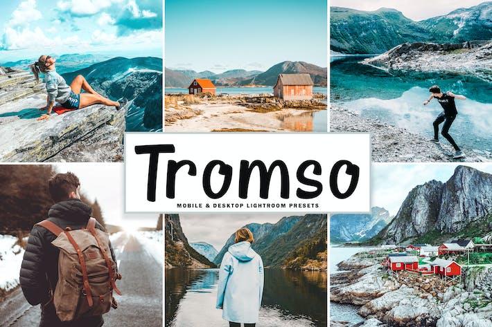 Cover Image For Tromso Mobile & Desktop Lightroom Presets