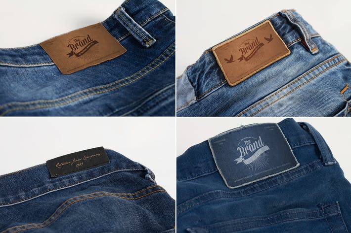 Thumbnail for Jeans Label Mock Up