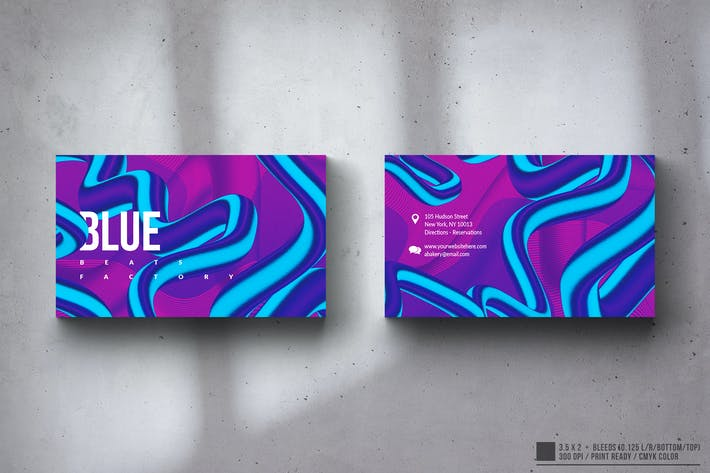 Thumbnail for Creative Multipurpose Business Card Design
