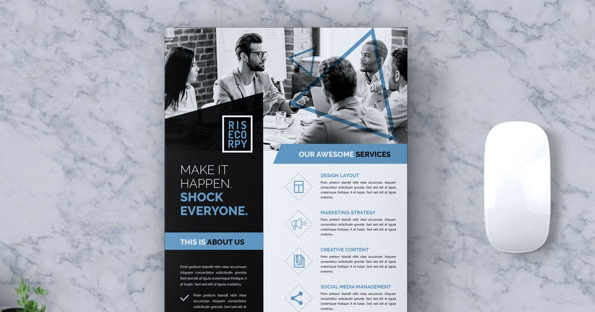 Download Creative Corporate Flyer Vol. 07 by Unknow